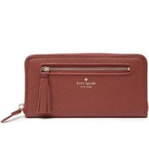 KATE SPADE Neda Chester Street Leather Wallet